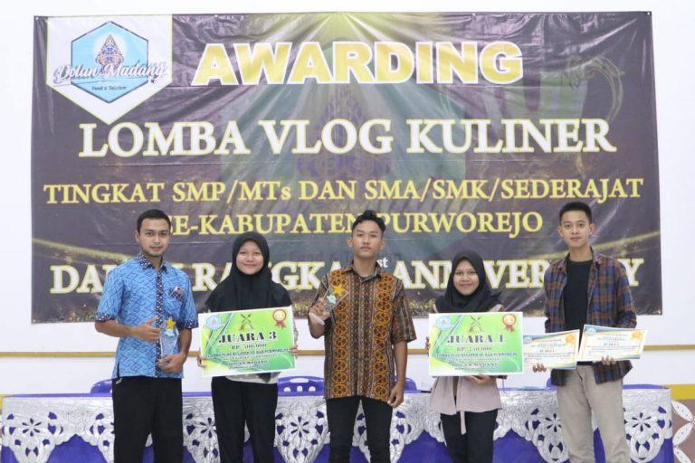 SMAN 10 Purworejo Juara III Kompetisi Vlog Tingkat Kabupaten